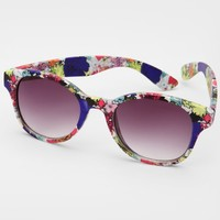 Floral Minnie Lou Sunglasses