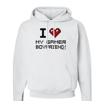 I Heart My Gamer Boyfriend Hoodie Sweatshirt