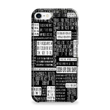 Fall Out Boy Lyric Case iPhone 6 | iPhone 6S Case