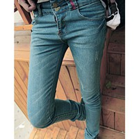 Women New Style Boots Pants Long Jean As Picture Pants XS/S/M/L/XL/XXL @WH0353ap $12.99 only in eFexcity.com.