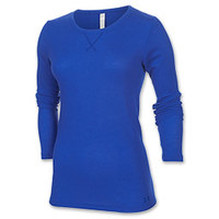 Women's Under Armour Cozy Waffle Long Sleeve Shirt