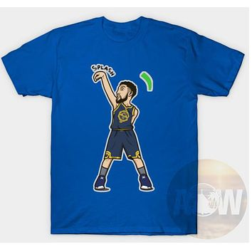 Klay Thompson Splash Bros Warriors Basketball Tee Adult Unisex T Shirt