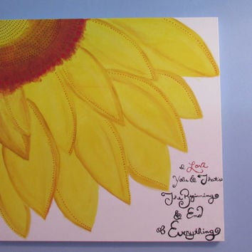 Flower, Painting, Flowers, Quotes, Quote Art, Love, Summer, Sunflower Art, Sunflowers, Home Decor, Gift Idea, Gifts, Canvas, Canvas Art