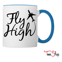 Fly High Coffee & Tea Mug