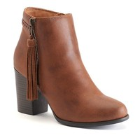 Unionbay Rebel Women's Wedge Ankle Boots