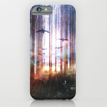 Absinthe forest iPhone & iPod Case by HappyMelvin