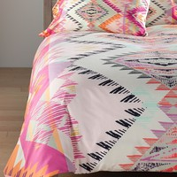 DENY Designs 'Pattern State - Marker Sun' Duvet Cover Set,