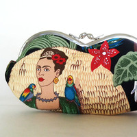Frida Kahlo, an eyeglass case, sunglass case, smartphone case