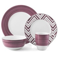 Mikasa® Cadence 4-Piece Place Setting in Ruby