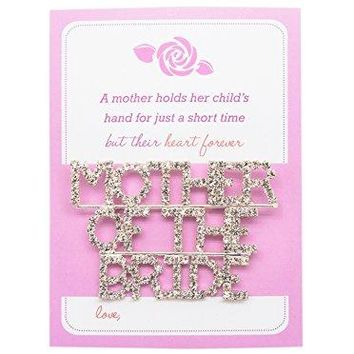 AMY O Jewelry Bridal Party Brooch Pin Wedding Gifts