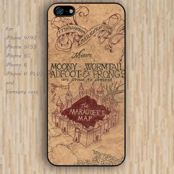 iPhone 5s 6 case Harry Potter map Dream catcher colorful Cartoon okay phone case iphone case,ipod case,samsung galaxy case available plastic rubber case waterproof B449
