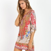 Tolani Chloe Tunic Ivory 9222 - Free Shipping at Largo Drive