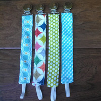 Pacifier Clip - Universal Clip for Pacifier/Binky/Soothie Dots