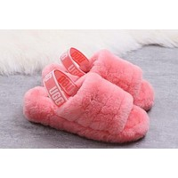 UGG Slippers Women Fashion Fluff Slipper Shoes
