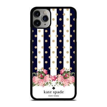 KATE SPADE NEW YORK POLKADOTS FLORAL iPhone Case Cover