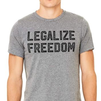 Legalize Freedom Vintage Soft Men's T-Shirt