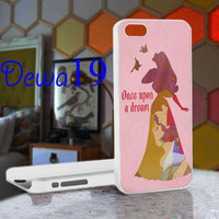 Disney Aurora Princess Quote For iPhone 4/4S, iPhone 5 / iPhone 5S / iPhone 5c and Samsung Galaxy S3/S4 Case/Cover