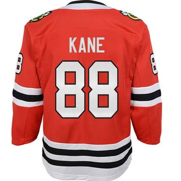 Youth Patrick Kane Chicago Blackhawks NHL Branded Replica Red Home Jersey