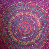 Elephant Mandala Tapestry 11  - Mellow Mood