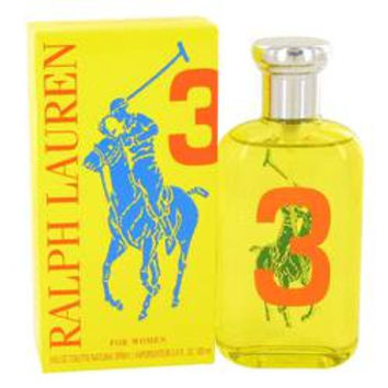 Big Pony Yellow 3 Eau De Toilette Spray By Ralph Lauren