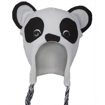 Panda Head Peruvian Hat
