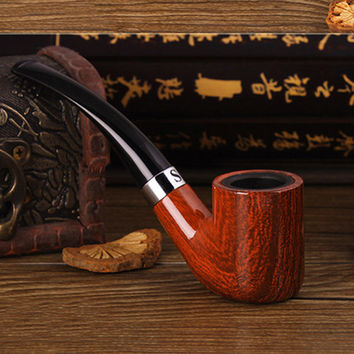 Smoking Pipes Smoking Set Smoking bakelite Pipe Handmade Tobacco Pipe Filter bakelite Pipe great gift for friends