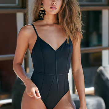LA Hearts Binding One Piece Swimsuit at PacSun.com