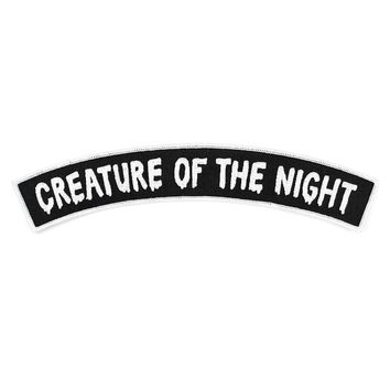 Creature Of The Night Large Back Patch