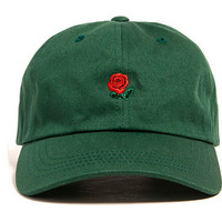 Green Pink Black Navy Khaki Sky Blue THE HUNDREDS Flower Rose Embroidery Curved Summer Snapback Baseball Cap trapback Hip Hop