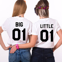 Big Little Shirts, Big Little Sorority Shirts, Big Little 01, Sorority Shirts, Big 01 Little 01 Sorority Shirts, Big Little Gbig Shirts