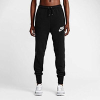 """Nike"" Classic Knitting Trousers Autumn Slim Sweatpants"