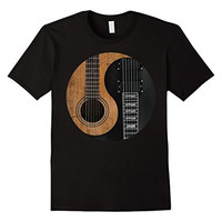 Guitar Yin Yang Music Rock Band Funny Cool Gift T-shirt