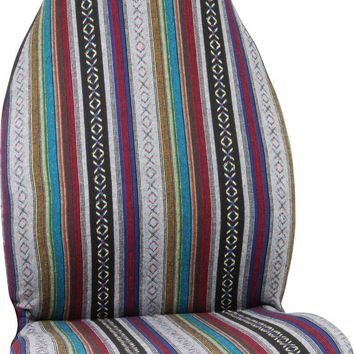 Baja Blanket Auto Front Seat Cover Fun Car Accessory