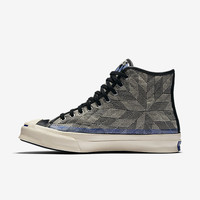 The Converse Jack Purcell Signature Quilt High Top Unisex Shoe.