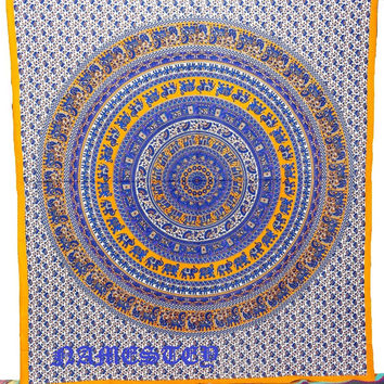 Star mandala Hippie Tapestry,Hippie mandala Wall Hanging ,Bohemian Tapestry,Indian Bedspread,Bed Sheet Cover Throw,Wall Decor,Wall Art