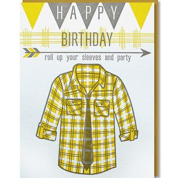 Paper Parasol Press - Roll Up Sleeves Card