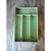 Sale 1940s Utensil Tray - Storage Caddy -