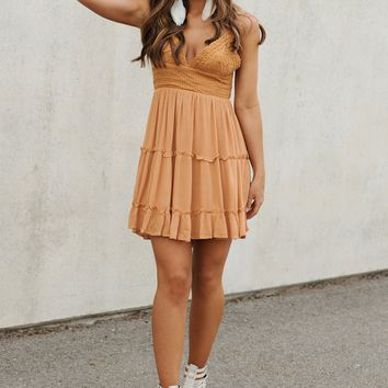 Heart Flutters Dress (Ginger)