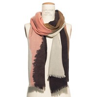COLORBLOCK MOUNTAINS SCARF