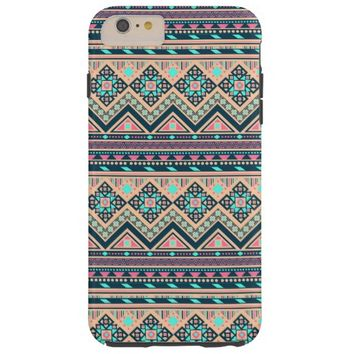 Colorful Abstract Aztec Tribal Pattern Tough iPhone 6 Plus Case