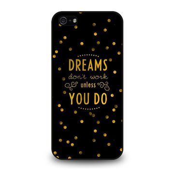 KATE SPADE QUOTE iPhone 5 / 5S / SE Case Cover