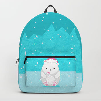 Polar bear Backpack by edrawings38