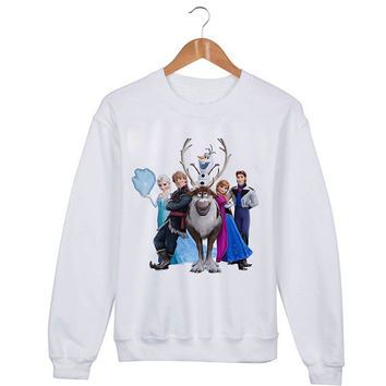 Frozen Disney Sweater sweatshirt unisex adults size S-2XL