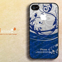 the best iphone 4s cover ,iphone  cases 4, iphone 4s cases ,iphone 4 cases, iphone case with beautiful blue printing 240