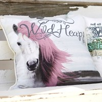 Junk Gypsy Wild At Heart Pillow Cover