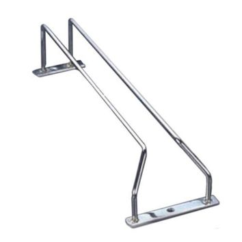 Stainless Steel  Iron Wine Glass Stand Hanging Beverage Holder with 1 row