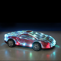 Colorful lights portable wireless bluetooth speaker car