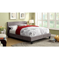 Furniture of America Preston Leatherette Platform Bed