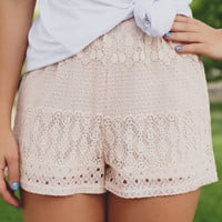 Wallflower Shorts