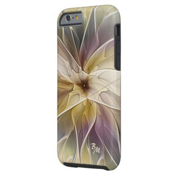 Floral Fantasy Pattern Abstract Fractal Monogram Tough iPhone 6 Case